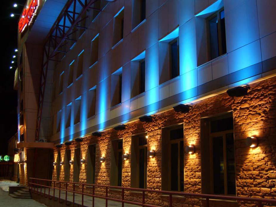 Архитектурная подсветка - Производство рекламных конструкций